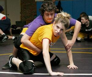 Almost every male wrestler fears wrestling a girl at some point in their wrestling career. But why?