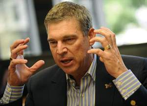 The University of Michigan Athletic Director Dave Brandon
