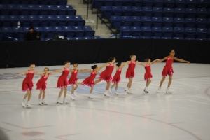 My own photo! Even these little kids dream of one day skating in the Olympics. Team Delaware SST