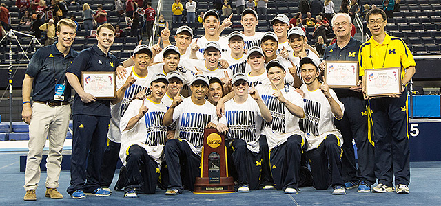 2014 Men's Gymnastics National Champions