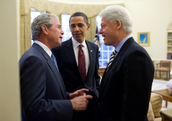 Barack Obama, George W. Bush, and Bill Clinton have all been compared because of their presidential campaigns.