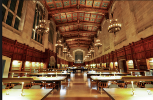 I pay a lot of money, but at least I study somewhere that looks like Hogwarts.  Source: Wikipedia