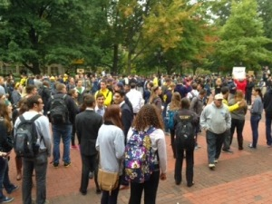 Rally on the Diag