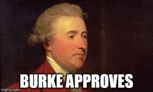 Burke Approves