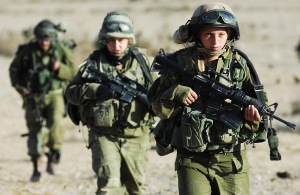 Women fighting bravely in the military