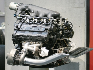Here is the old V8's that Formula 1 used before the rule change.   (Noncommercial reuse from Google Images)