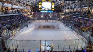 The Yost Arena... Just a leeeetle bit more impressive