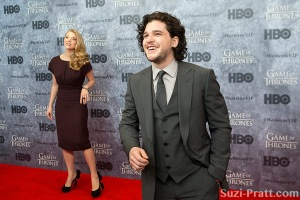 "Kit Harington at HBO's ""Game Of Thrones"" Season 3 Seattle Premie"
