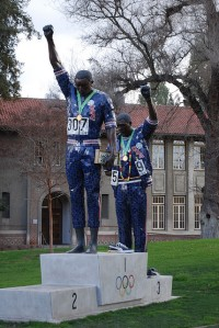 Smith and Carlos Statue